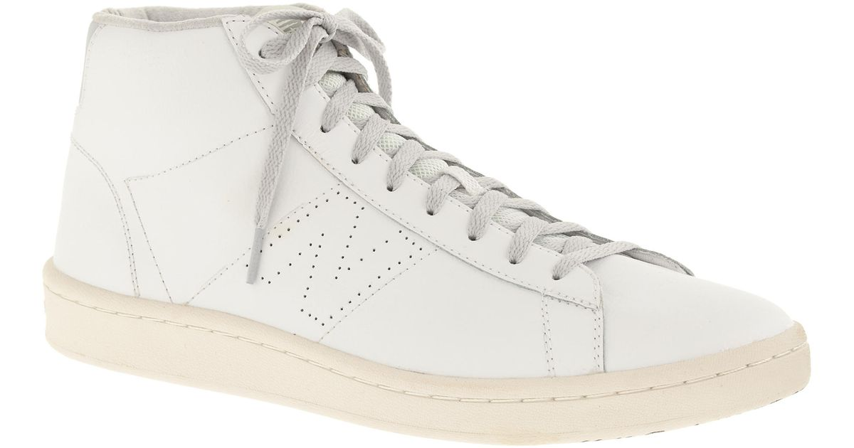 96102b29538 J.Crew New Balance 891 Leather Sneakers in White for Men - Lyst