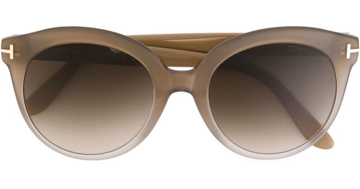 a02e461ef16 Tom Ford  monica  Sunglasses in Natural - Lyst