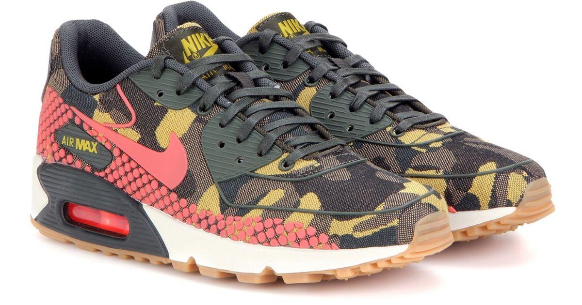san francisco b4d34 b857c Lyst - Nike Air Max 90 Jacquard Premium Sneakers