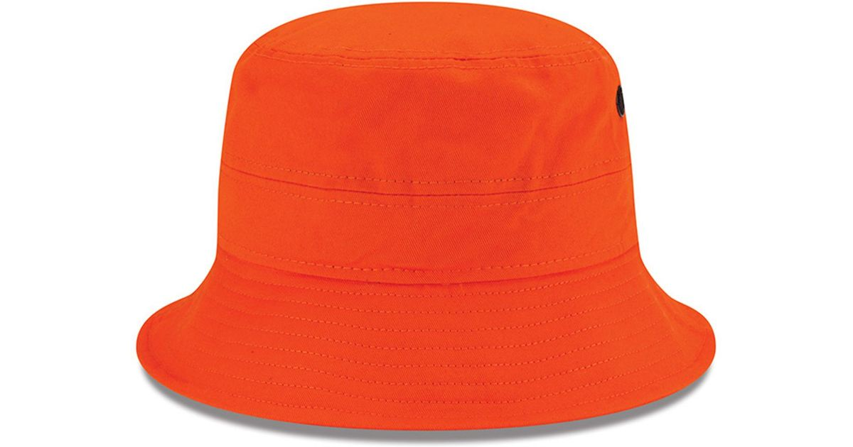 0288dccda Lyst - KTZ Denver Broncos Multi Super Bowl Champ Bucket Hat in Orange for  Men