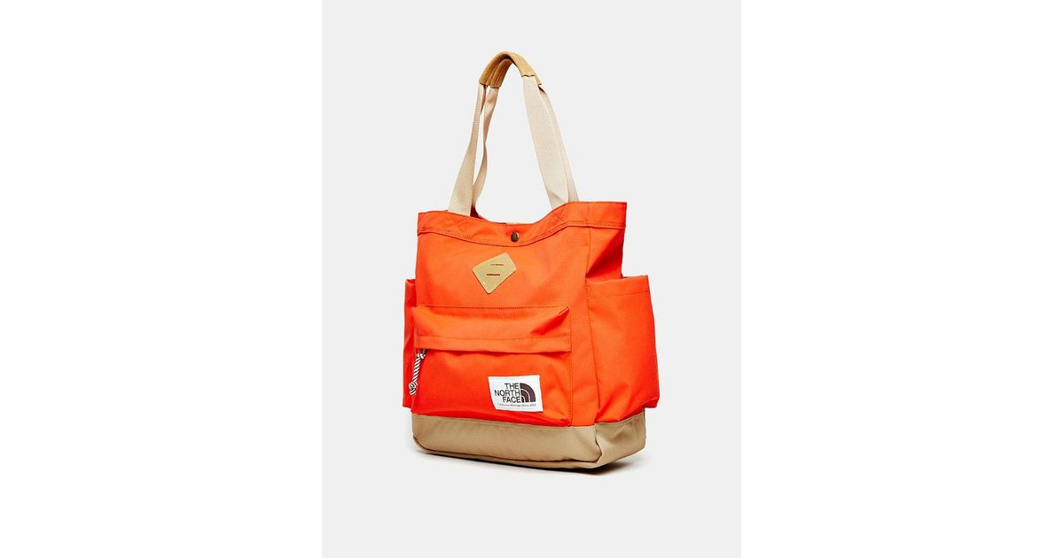 11ae6654d The North Face Four Point Tote Bag in Red - Lyst