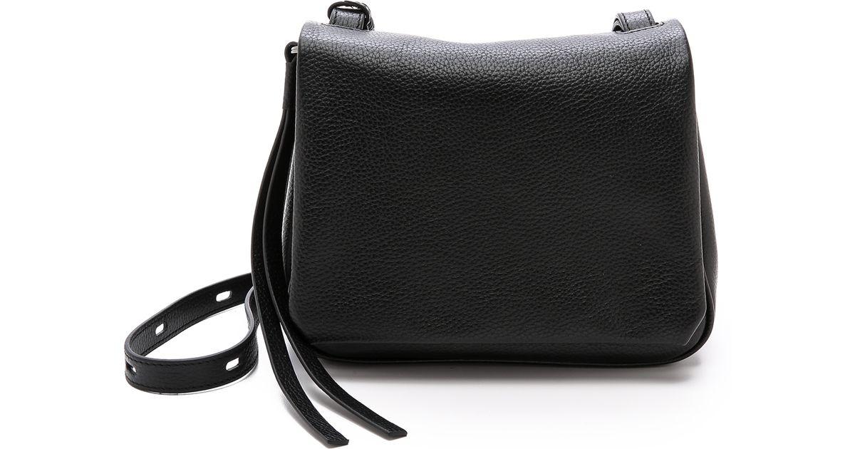 f1fe76f6a9 Lyst - Kara Mini Messenger Bag - Black in Black