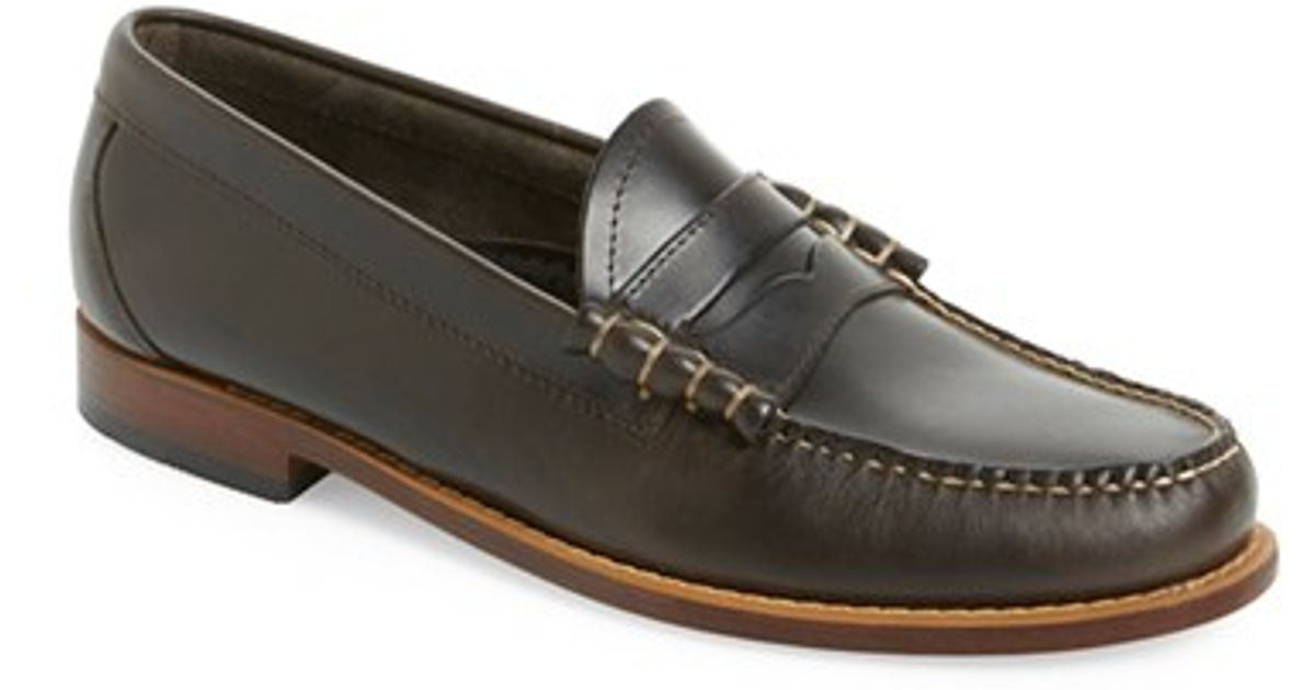 G.h. bass & co. 'larson - Weejuns' Penny Loafer in Gray ...