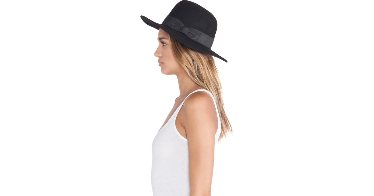 c373a762 Lyst - Brixton Count Fedora in Black