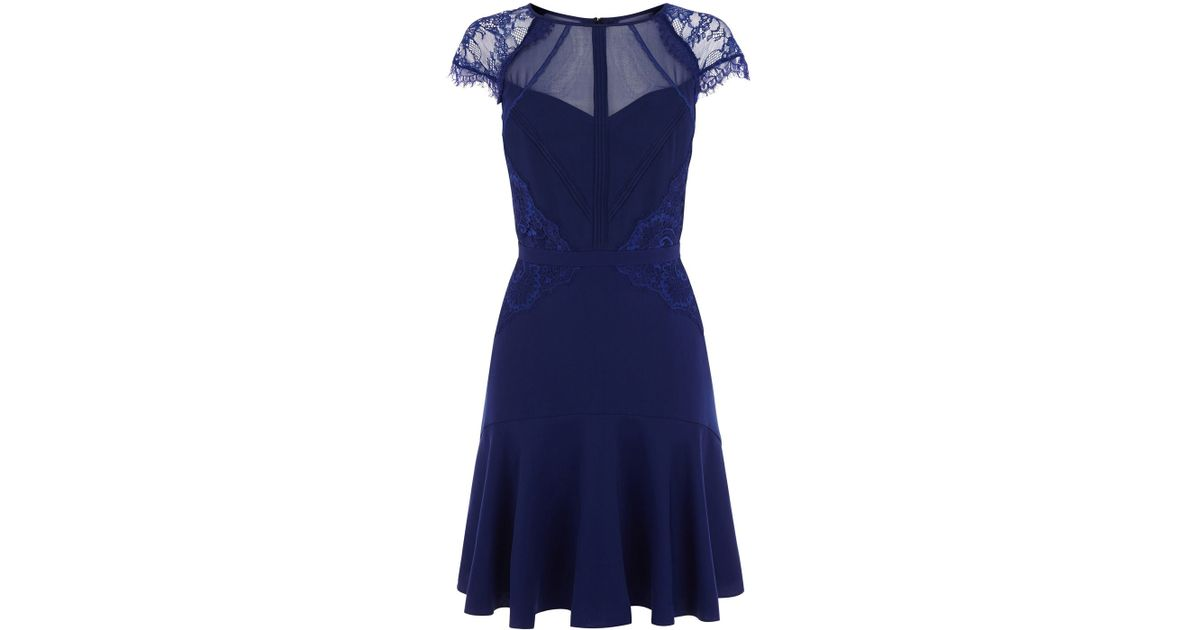 Coast blue lace dress