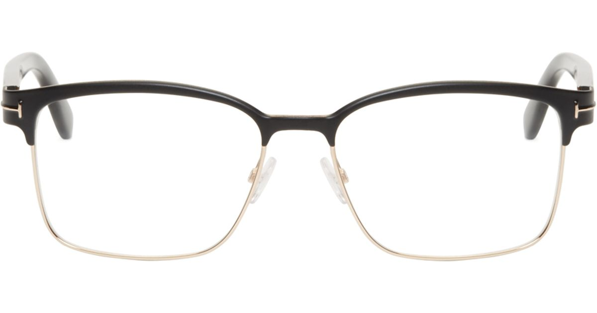 23b93281899db Lyst Tom Ford Black Horn Rim Tf5323 Optical Gles In For Men