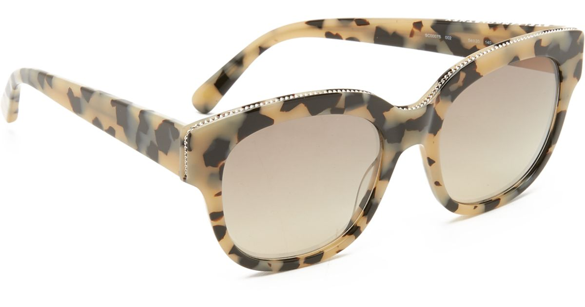 f26041d2ccc3 Stella Mccartney Gold Chain Sunglasses