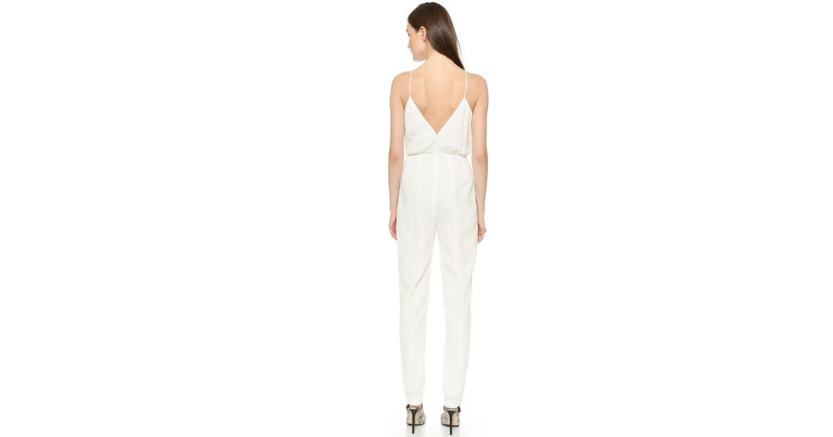 27b0d8c41345 Lyst - Finders Keepers The Someday Jumpsuit in White