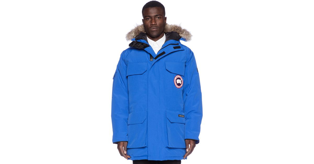 Canada Goose mens online price - Canada goose Expedition Down Parka in Blue for Men (Royal Pbi Blue ...