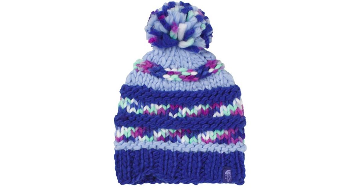 692a8a338b012 The North Face  nanny  Knit Beanie - Purple - Lyst