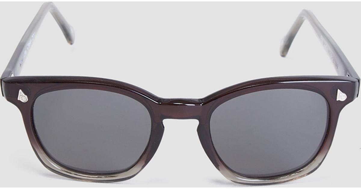 4836d74d435 Vintage American Optical Safety Glasses Black Gradient in Black for Men