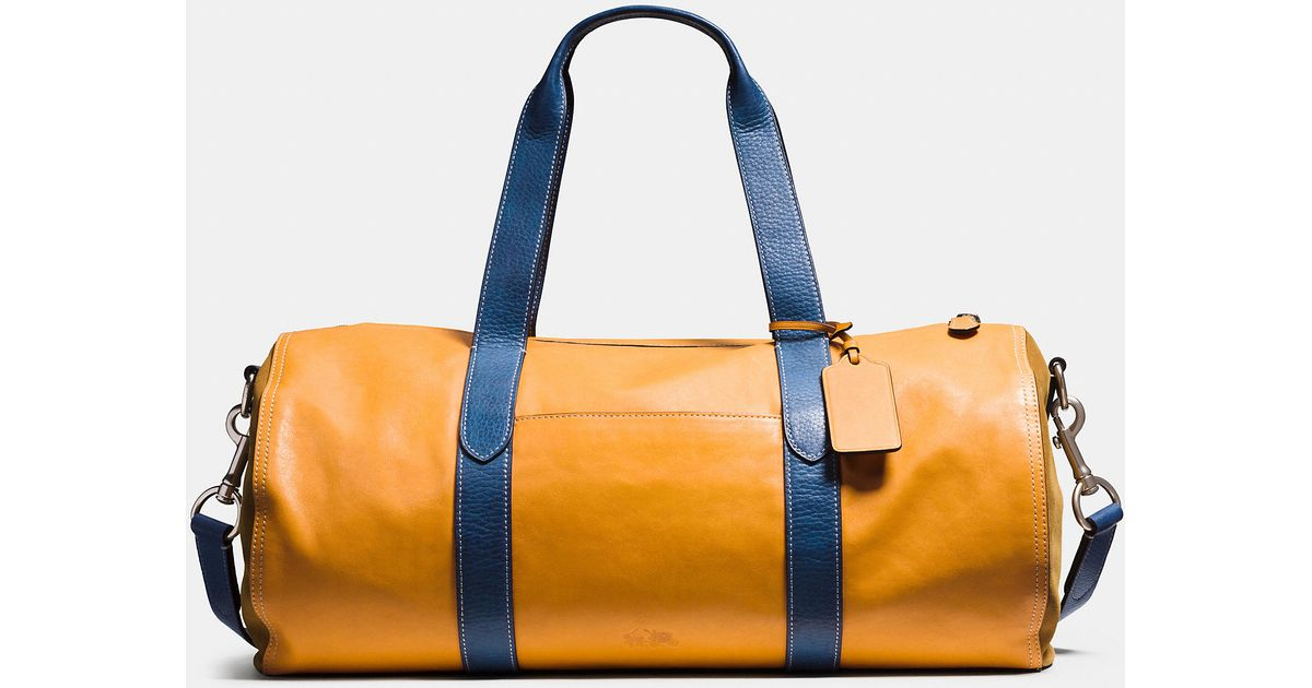 2b5d803a42 123456789101112 9ec6a 88ce3 where can i buy lyst coach large gym bag in  sport calf leather in blue for ...