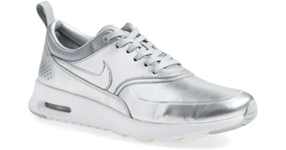 info for d43b0 4d7db Lyst - Nike  air Max Thea  Sneaker in Metallic