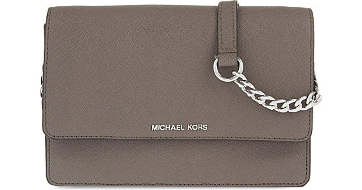 4a0986dba9c0 MICHAEL Michael Kors Daniela Small Leather Cross-body Bag - Lyst