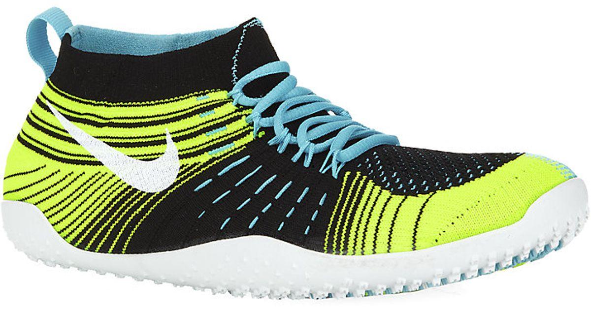fb83f8970fe59 Nike Free Hyperfeel Cross Elite Trainer in Yellow - Lyst
