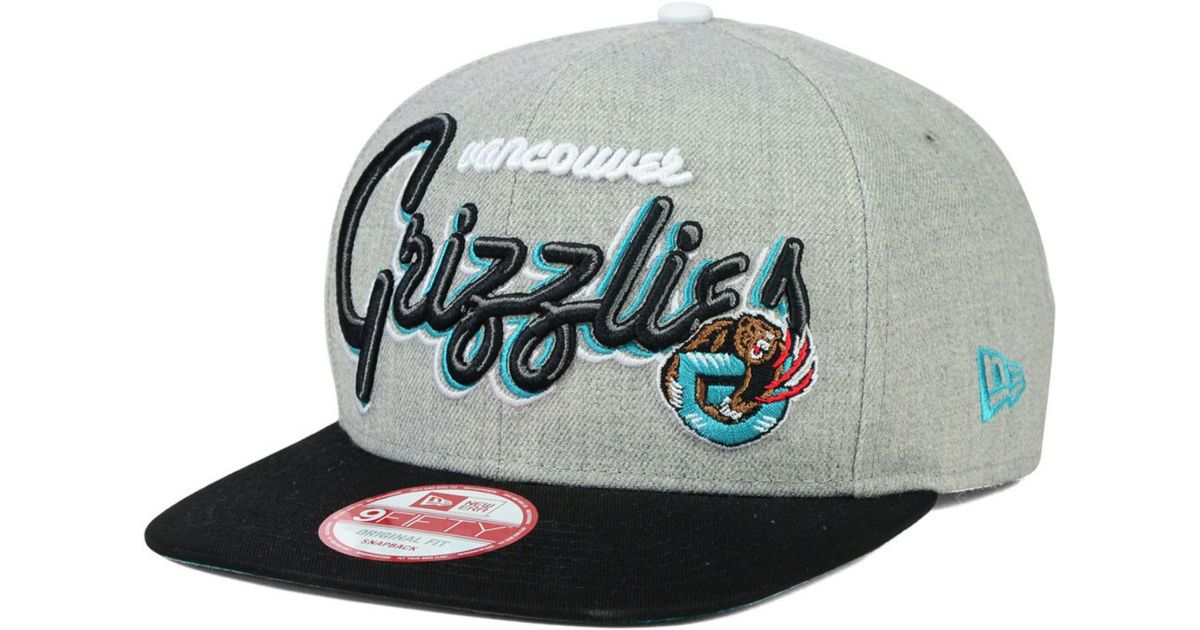 various colors a80c5 5f506 KTZ Vancouver Grizzlies Hwc The Heather Bright Nights 9fifty Snapback Cap  in Gray for Men - Lyst