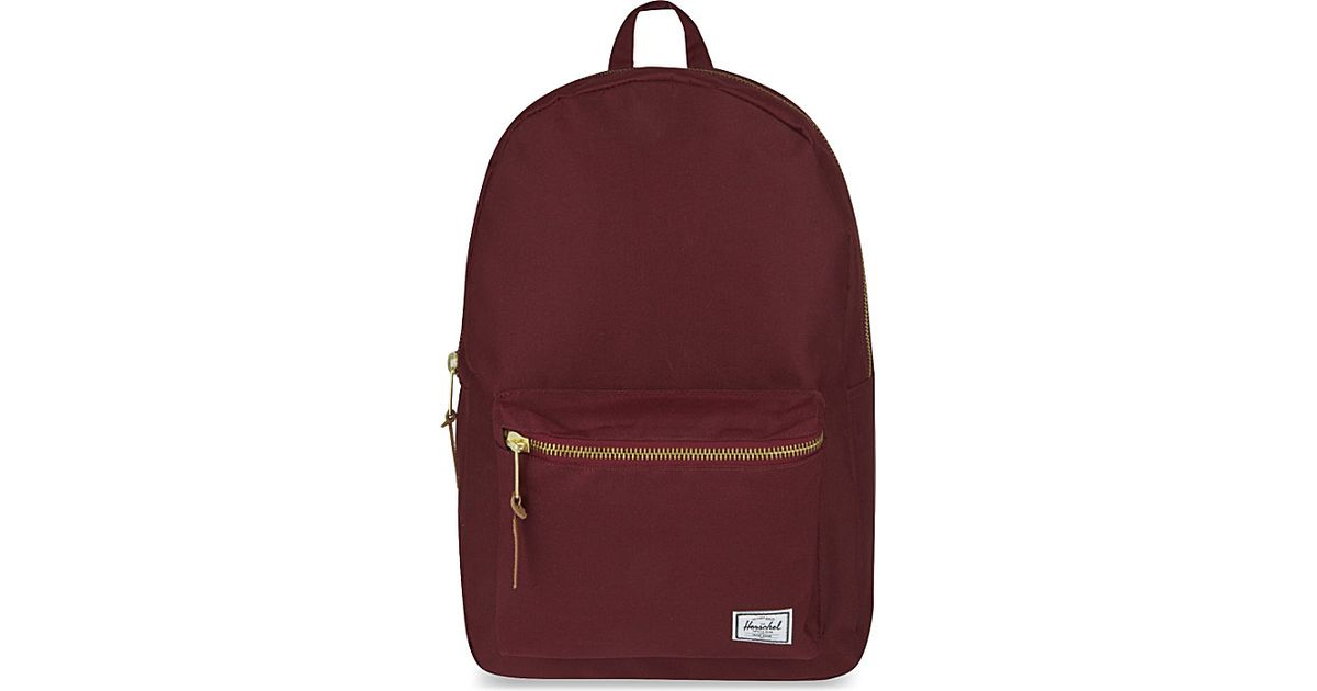 Herschel Supply Co Purple Settlement Backpack
