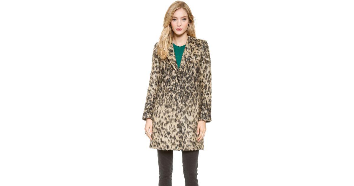 cfb133359744 Smythe Leopard Lab Coat Vintage Leopard - Lyst