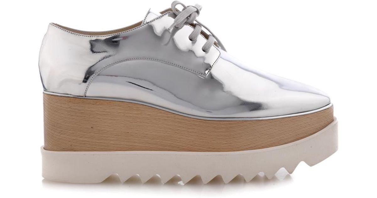 metallic Elyse shoes - Grey Stella McCartney i2Bi7