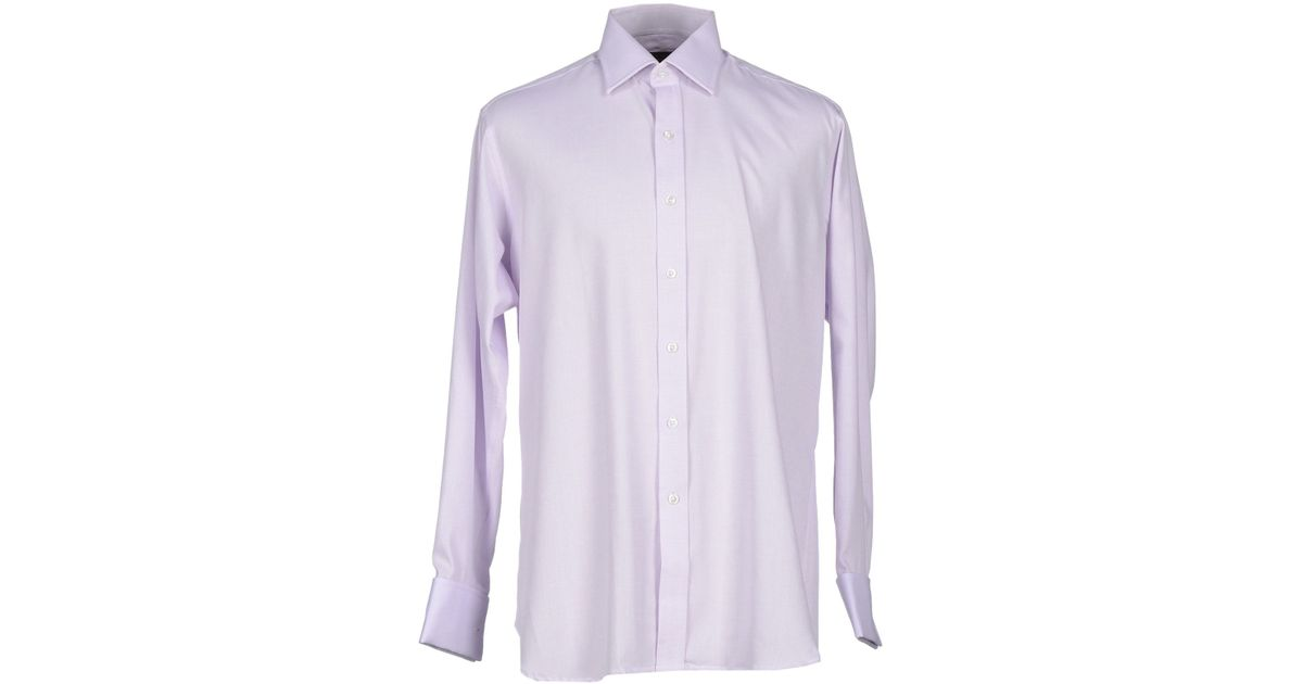emma willis shirts ~ emma willis shirt in purple for men  lyst