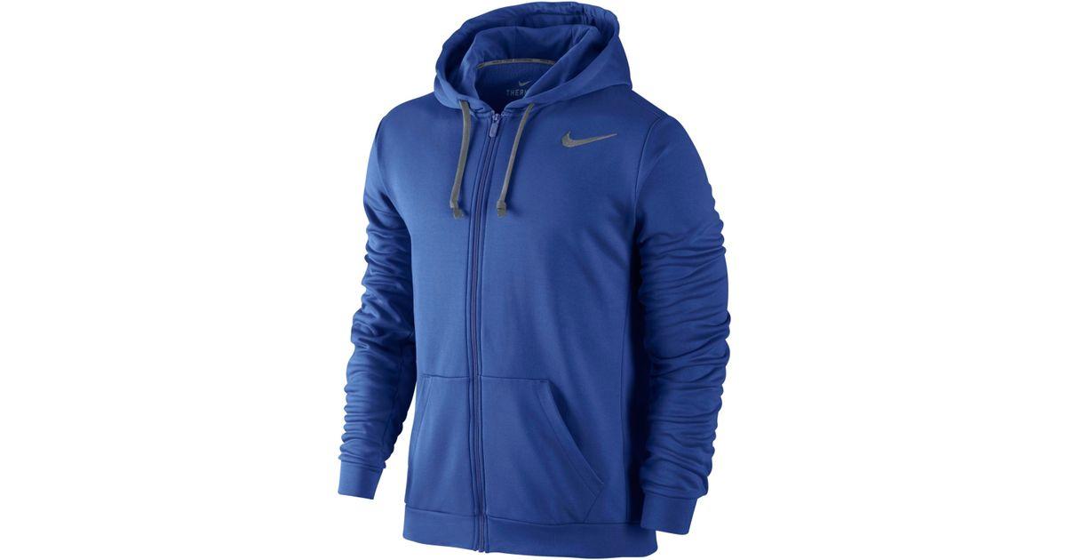 c6a55144c371 Lyst - Nike Ko 3.0 Therma-fit Full-zip Hoodie in Blue for Men