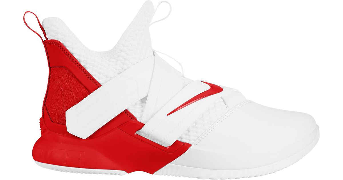 best service ed4c3 10820 Nike - Red Lebron James Lebron Soldier Xii for Men - Lyst