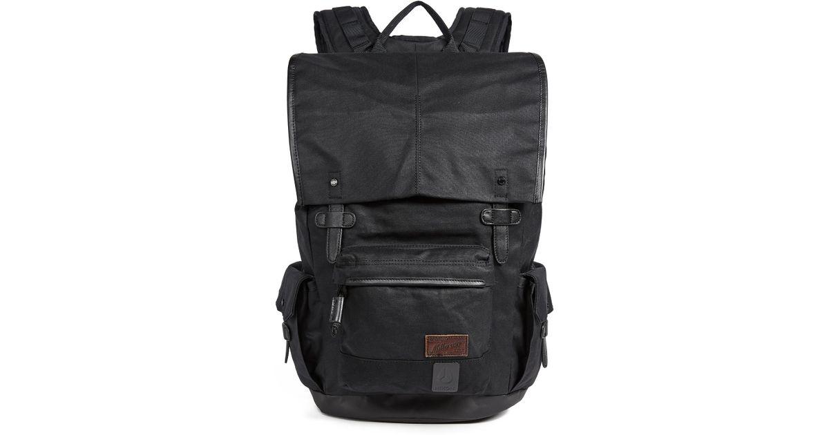 43447ec70d Lyst - Nixon Bristol Backpack in Black for Men