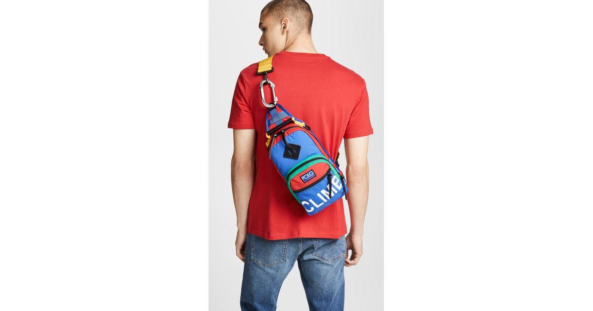 73cf17ffd951 Lyst - Polo Ralph Lauren Hi Tech Sling Bag for Men