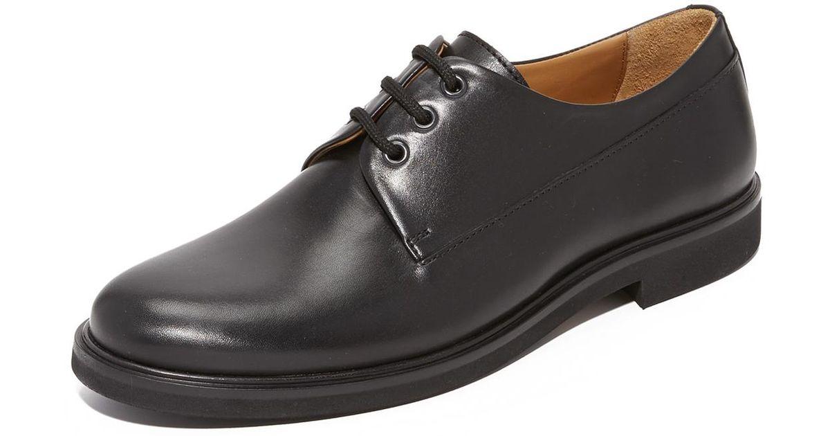 4ec66c8b6fe0 Lyst - A.P.C. Gustave Derbys in Black for Men