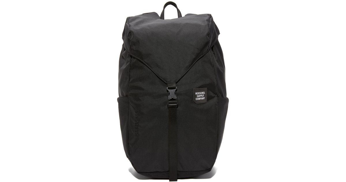 Lyst - Herschel Supply Co. Barlow Medium Trail Backpack in Black for Men ee58cb2f0e321