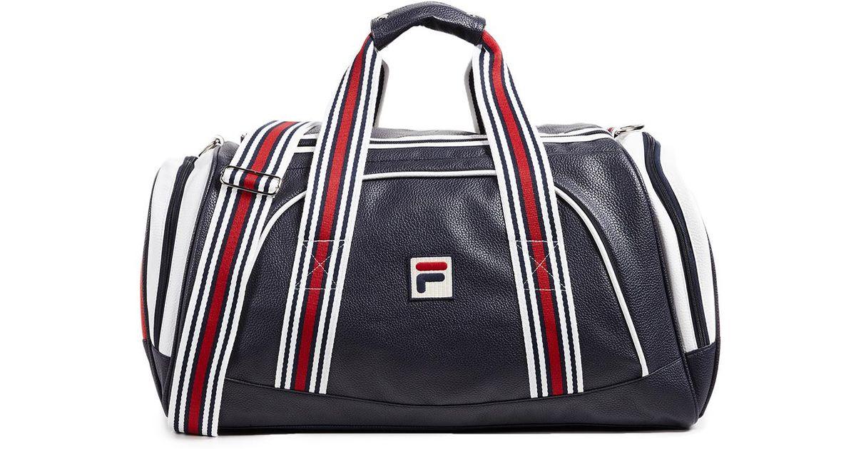 877272ce63 Lyst - Fila Striker Duffel Bag in Blue for Men