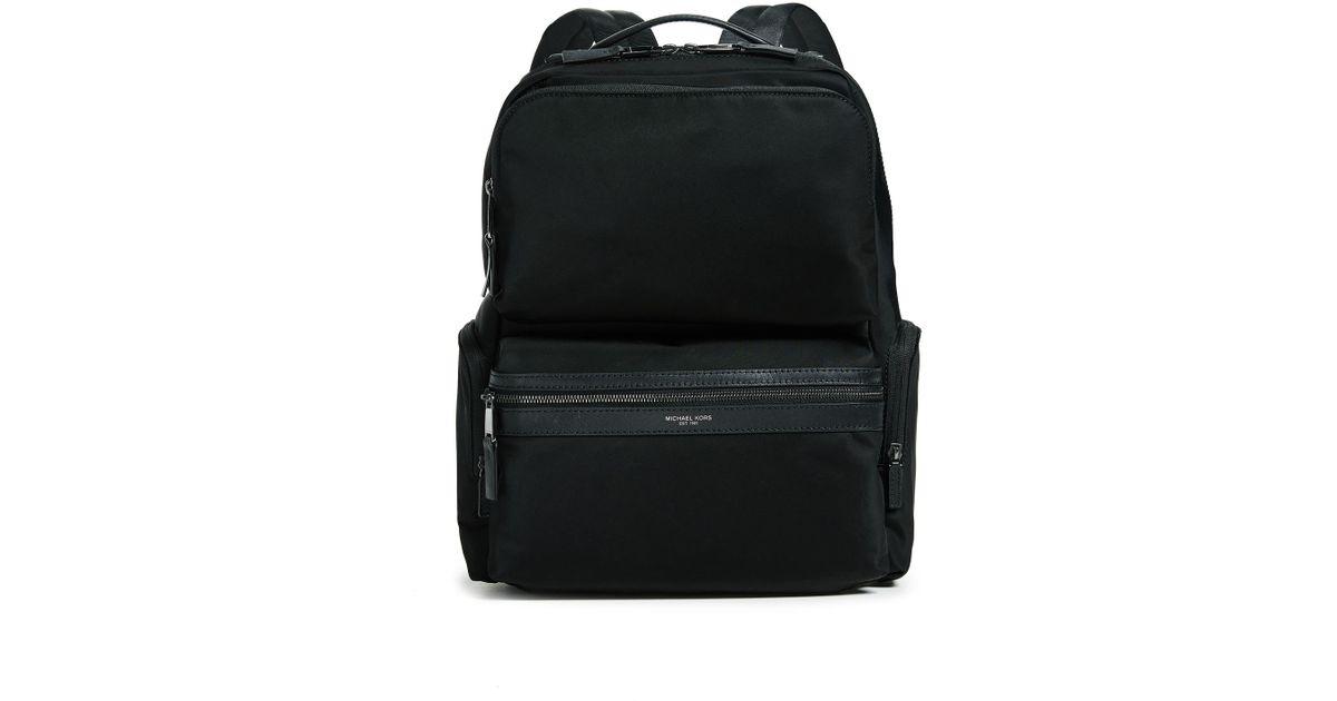 3ed3e0980edc Lyst - Michael Kors Kent Cargo Backpack in Black for Men