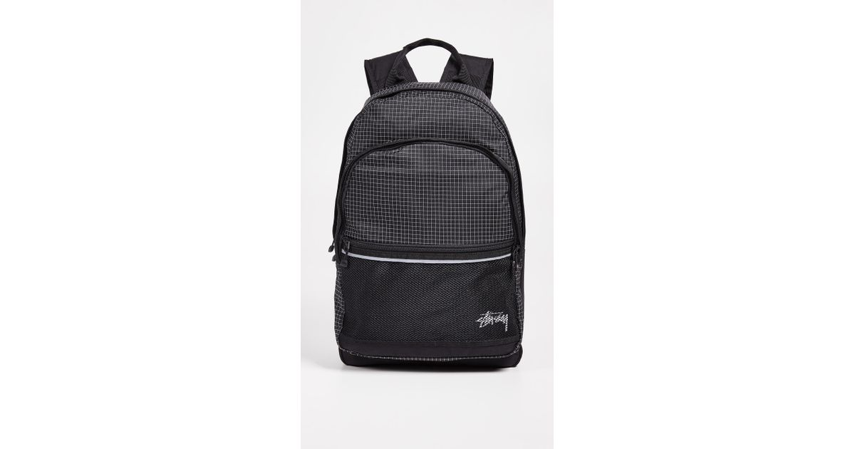 02877c8194fb Lyst - Stussy Ripstop Backpack in Black for Men