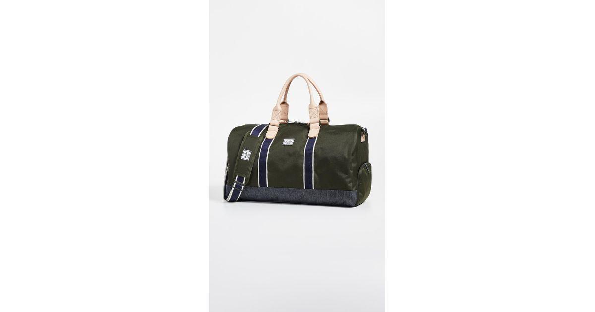 203e8cf5cd8e Herschel Supply Co. Novel Duffel Bag for Men - Lyst