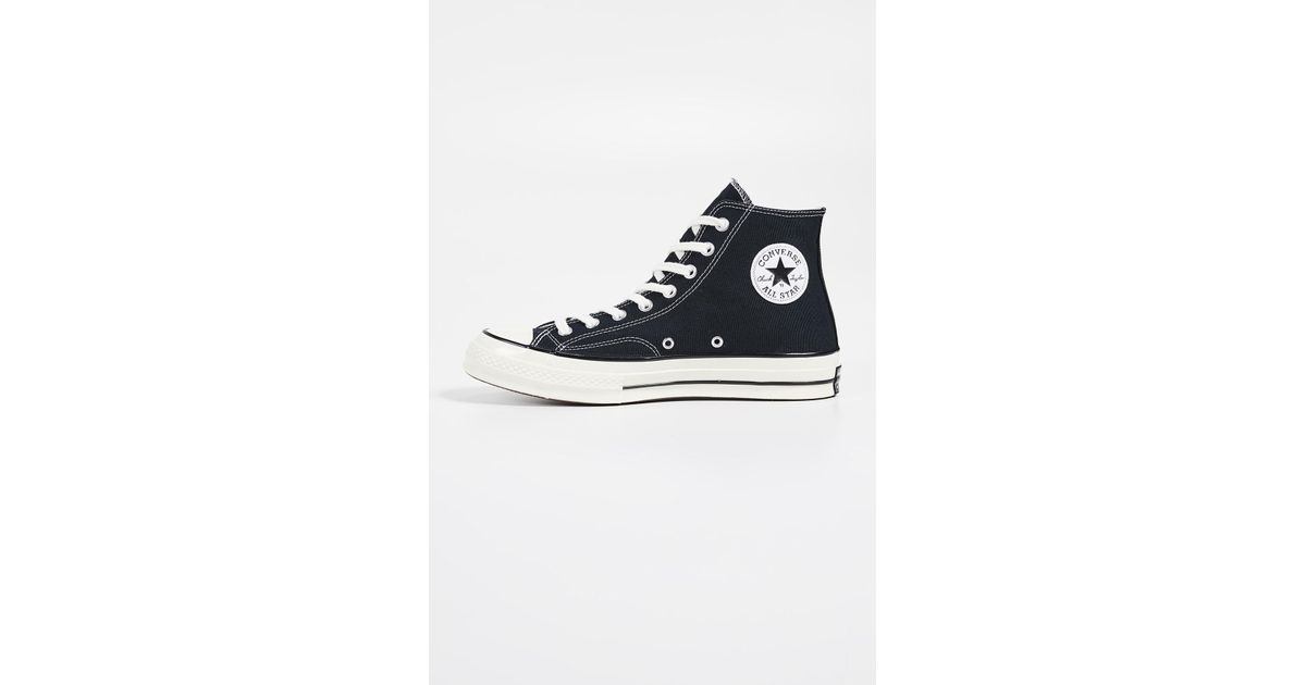 Lyst - Converse Chuck Taylor All Star  70s High Top Sneakers in Black for  Men 1072c80a2