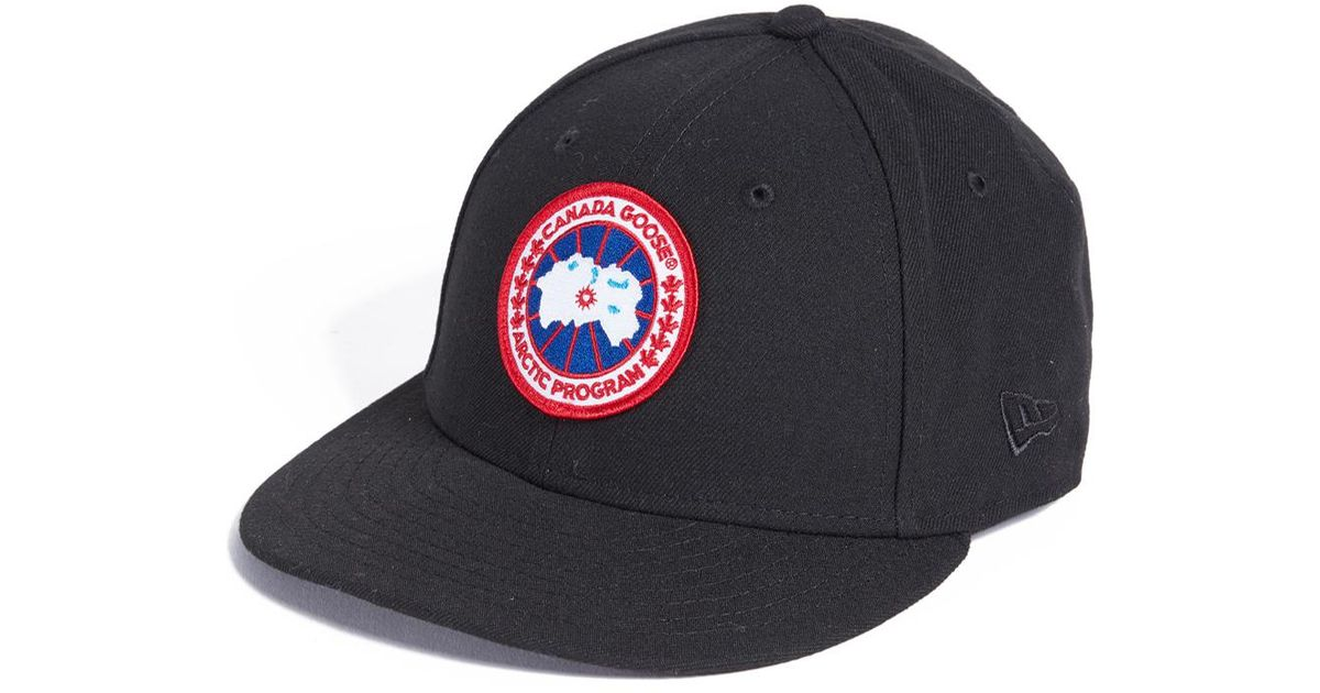 Canada Goose X New Era Cap in Black for Men - Lyst 7e57392aad6f
