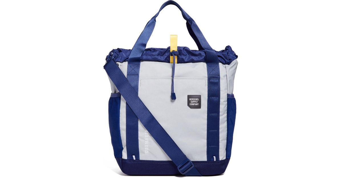 Herschel Supply Co. Barnes Trail Tote Bag in Blue for Men - Lyst fbd94013a5eb1