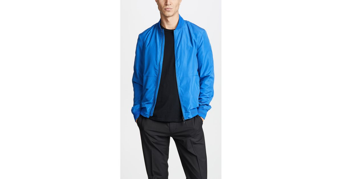 47d805f32 J.Lindeberg - Blue Thom Gravity Jacket for Men - Lyst
