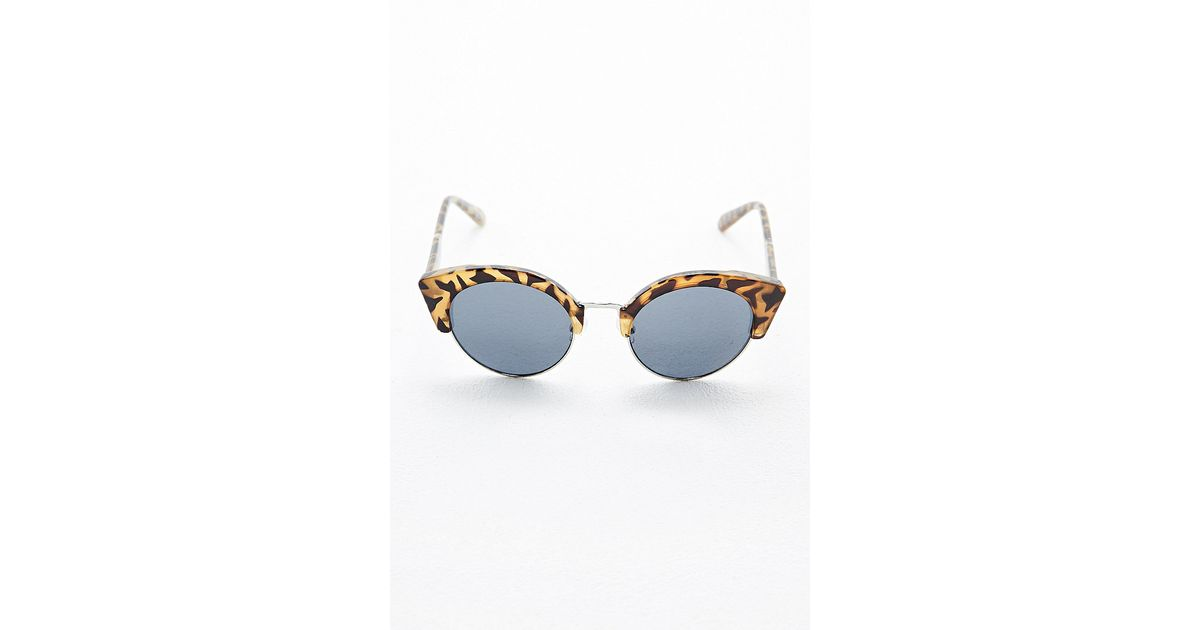 b5be7bc414e Cheap Monday Expo Sunglasses in Tortoiseshell in Brown - Lyst