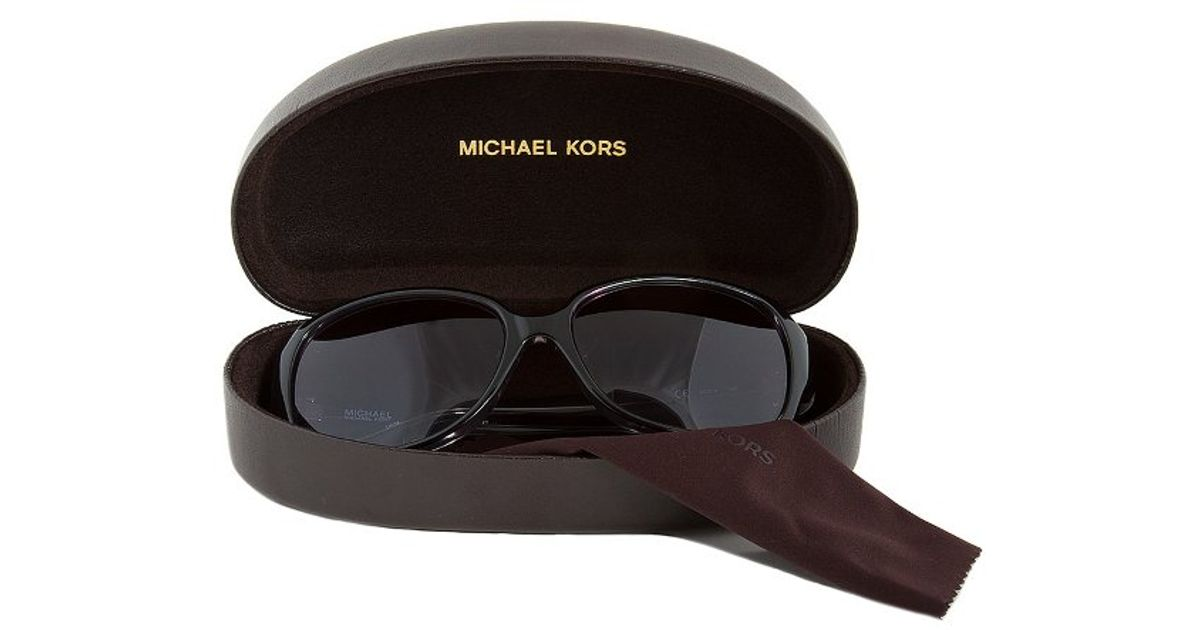 Michael Kors Montrose Sunglasses  michael kors m2789s 001 harper black sunglasses in black lyst