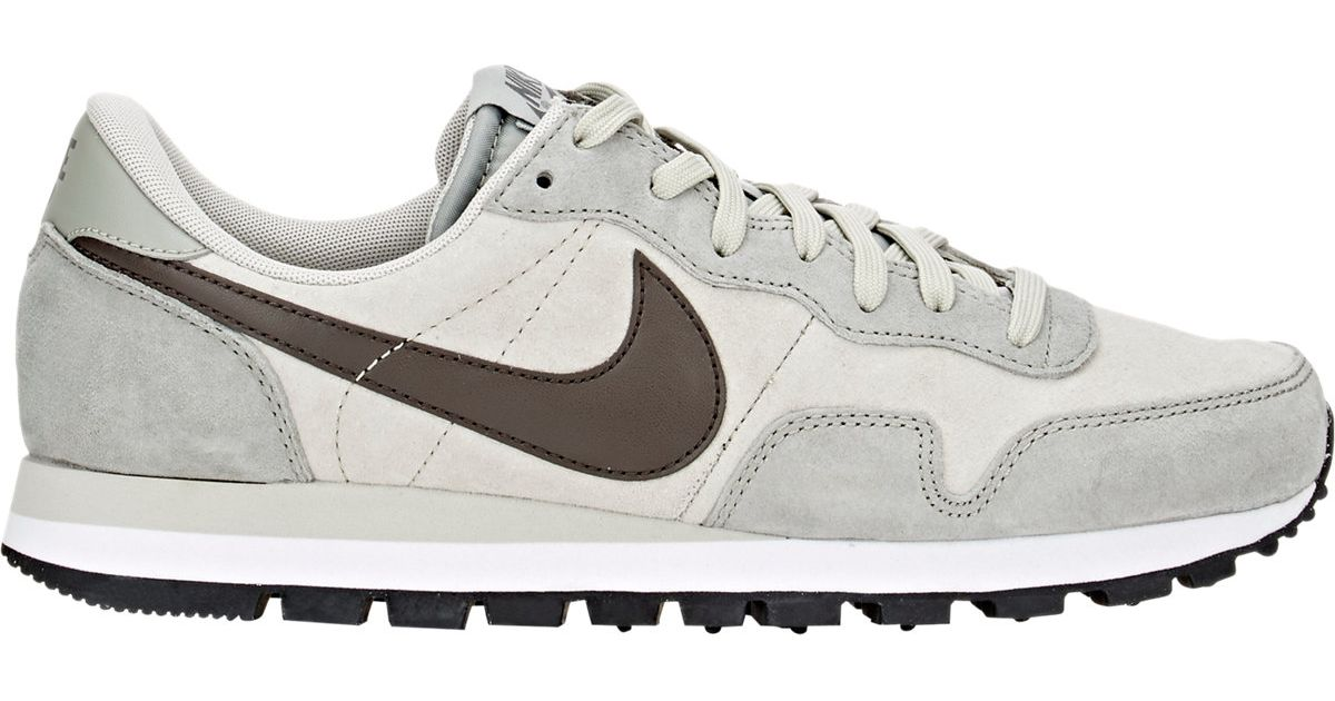 big sale 21b8e f8f50 Lyst - Nike Air Pegasus 83 Leather Sneakers in Gray for Men