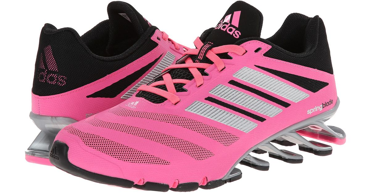 new arrival cc601 a8503 ... reduced lyst adidas springblade ignite in pink 1b967 c65d5