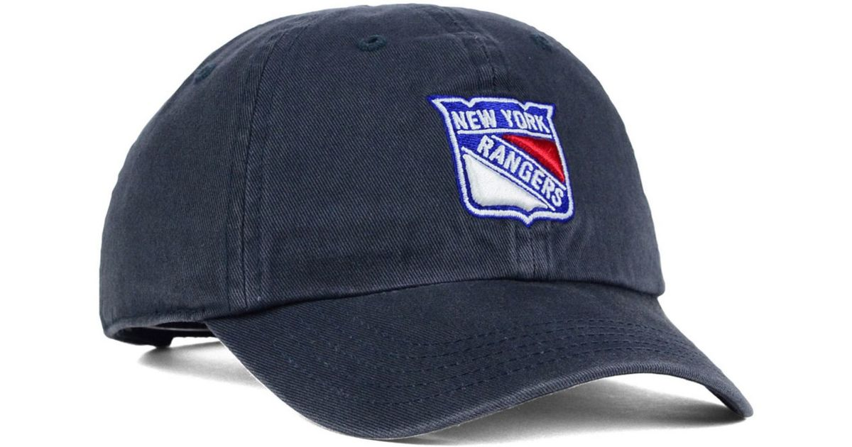 555a948f68cac0 47 Brand Kids' New York Rangers Clean Up Cap in Blue for Men - Lyst