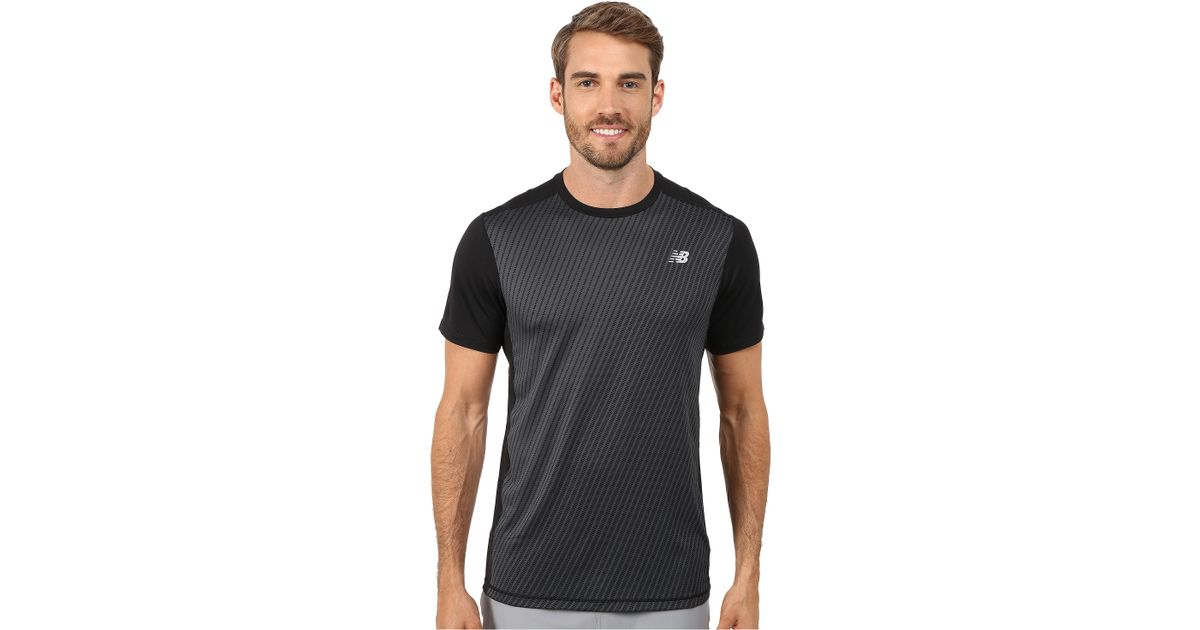985f1548c7854 New Balance Nb Ice Short Sleeve in Gray for Men - Lyst