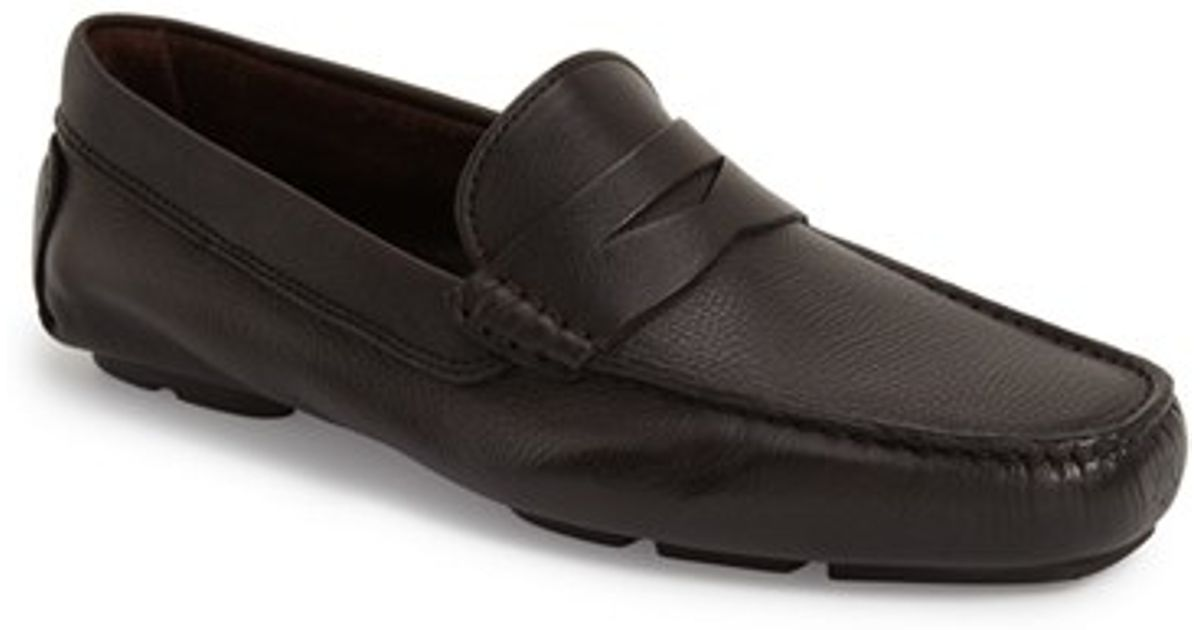 to boot bartlett driving shoe in black for lyst