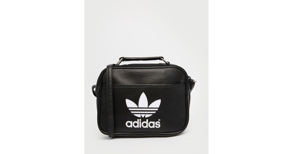 b48574e862 Lyst - adidas Originals Mini Airliner Flight Bag in Black for Men