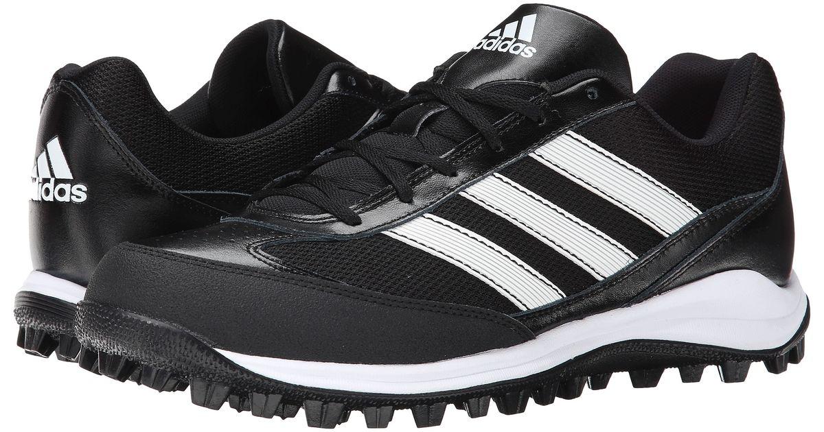 Adidas Originals Turf Hog Lx Low Baseball In Black For