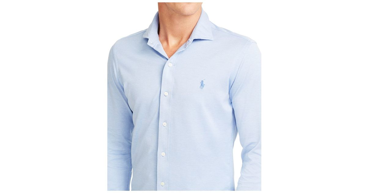 Polo ralph lauren knit estate dress shirt