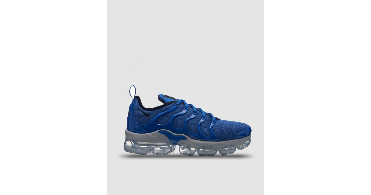 1ef7163a8a7 Lyst - Nike Air Vapormax Plus Casual Trainers in Blue for Men