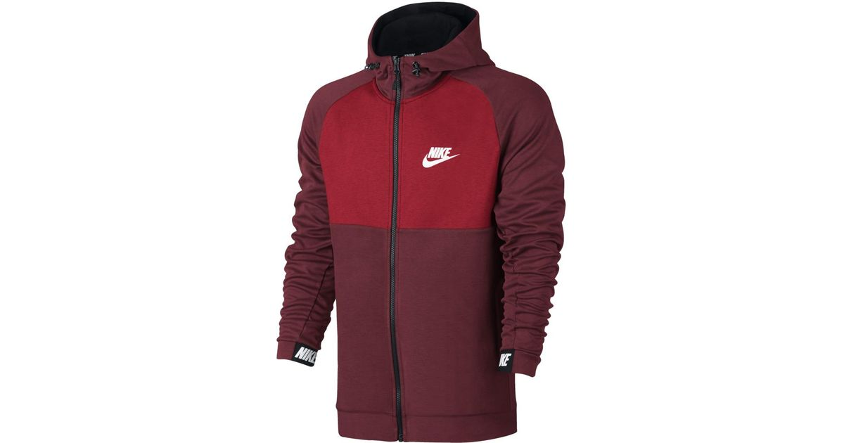 af15338a6242 Lyst - Nike Sportswear Advance 15 Sweatshirt in Red for Men
